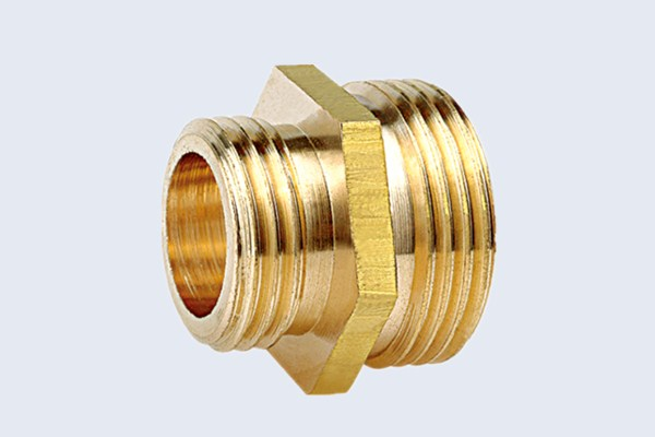 China brass reduced nipple fittings manufacturers reducer