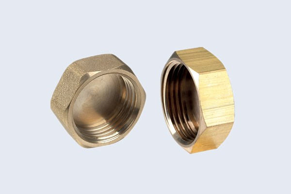 Brass Hexagonal Cap Fittings N30111006