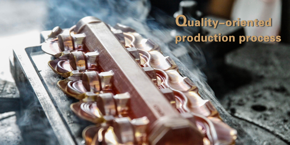 Quality-oriented production process