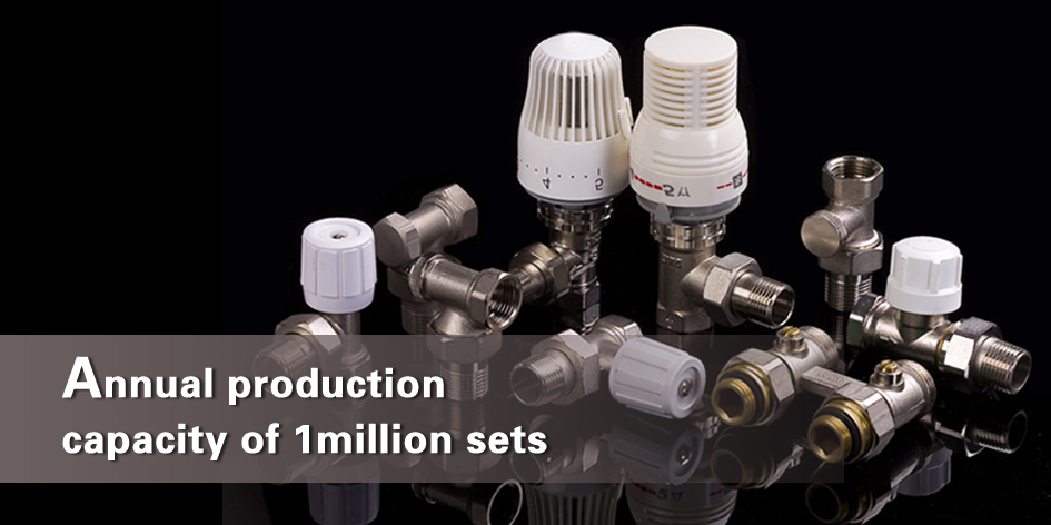 Annual production capacity of 1million sets