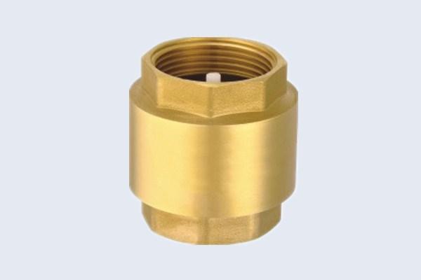 China Brass Spring Check Valve Brass Non Return Check