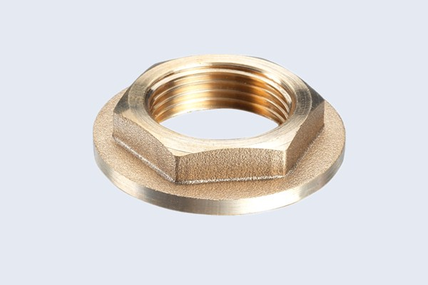 China brass flange nut fittings manufacturers