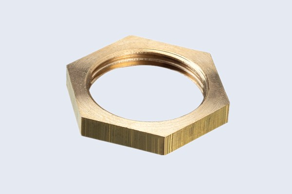 Brass Hexagonal  Nut Fittings N30111009