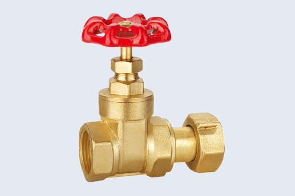 Brass Gate Valve With Union N10121007