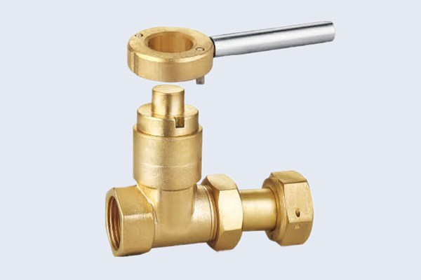 Lockable Brass Gate Valve N10121008