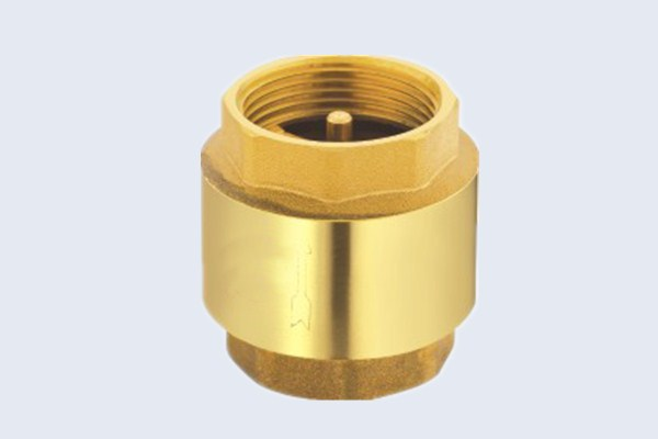 Brass Spring Check Valve with Brass Disc N10131002