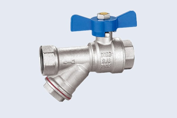 Brass Filter Ball Valve N10131009