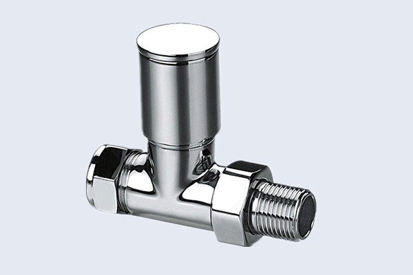 Brushed Chrome Bathroom Radiators: China Polished Chrome Radiator Valve, Brass Radiator Valve