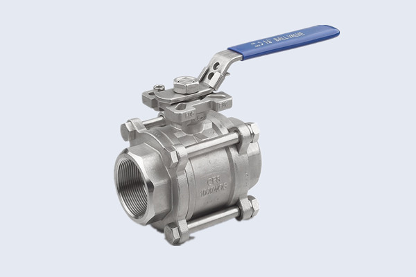 Three-Piece Stainless Steel Ball Valve N10211004