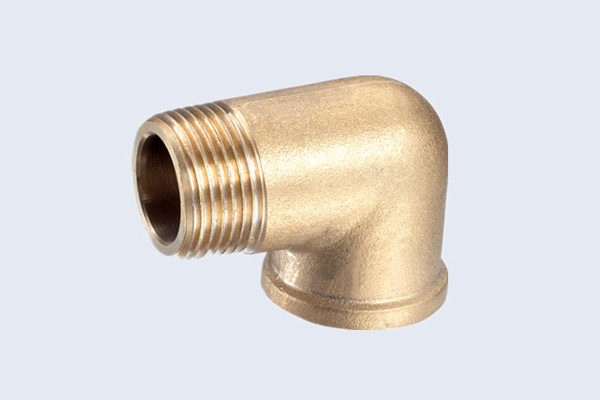 China forged pn brass elbow fittings