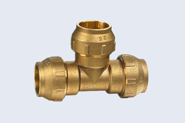 Brass Compression Tee Fittings N30132004