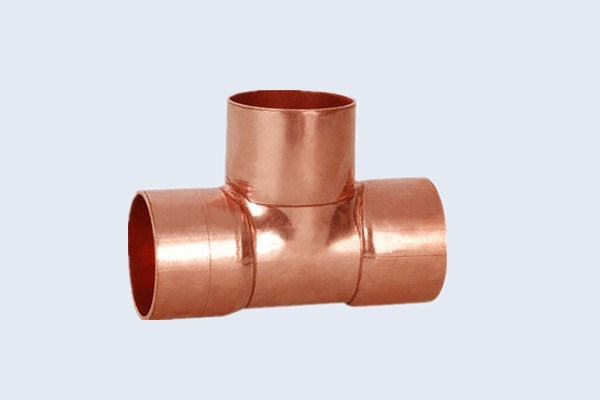 China copper fittings manufacturer red