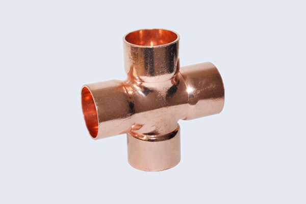 China cross copper tube fittings manufacturers