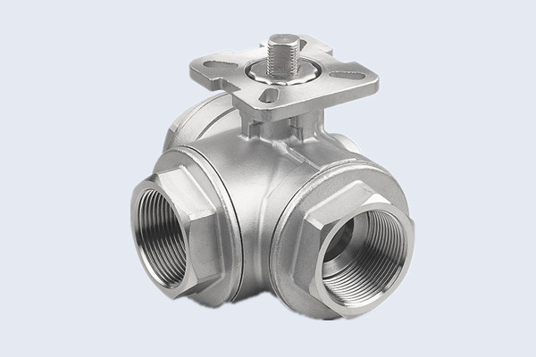 Three Way Stainless Steel Ball Valve N10211006