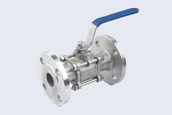 Flanged Stainless Steel Ball Valve N10211007