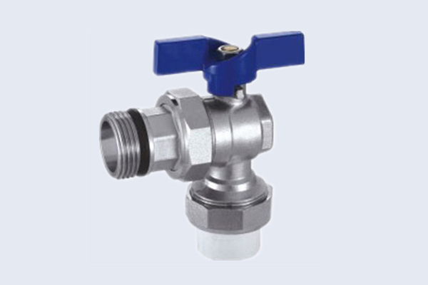 Angle Brass Ball Valve for PPR Pipe N10111414